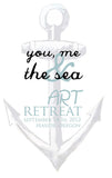 you, me and the sea art retreat SOLD OUT