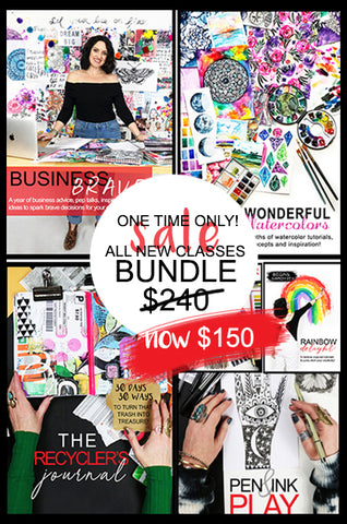 ONE TME ONLY! all new 2020 classes BUNDLE until Dec 25th