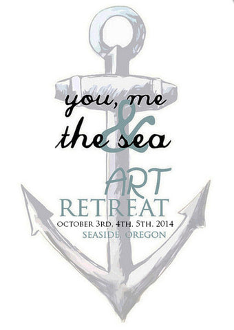 You, Me and the Sea Art Retreat Fall 2014