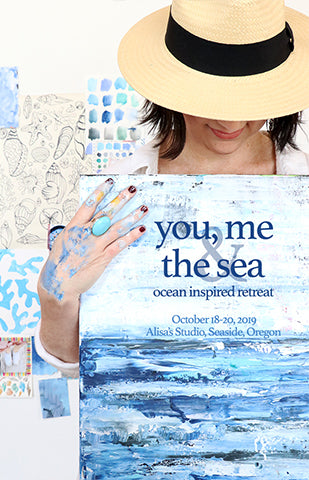 You Me, and the Sea Art Retreat