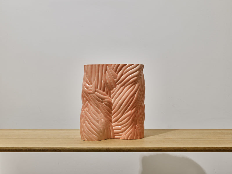 CARVED Vessel (Pink)
