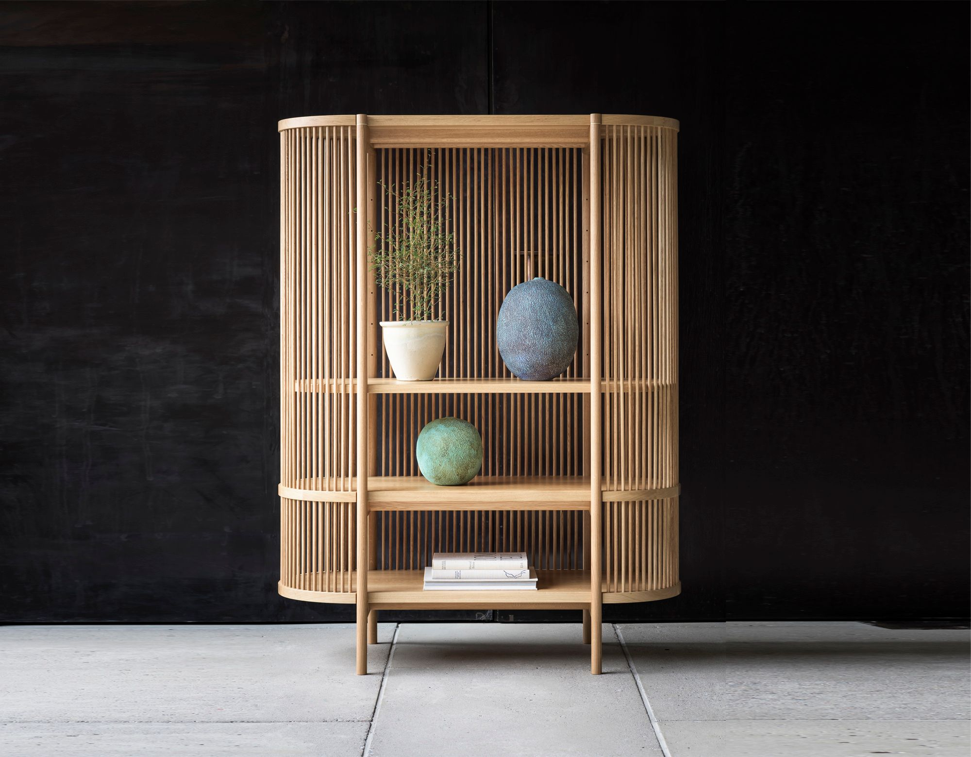 BASTONE x POIAT Cabinet - Natural Oak
