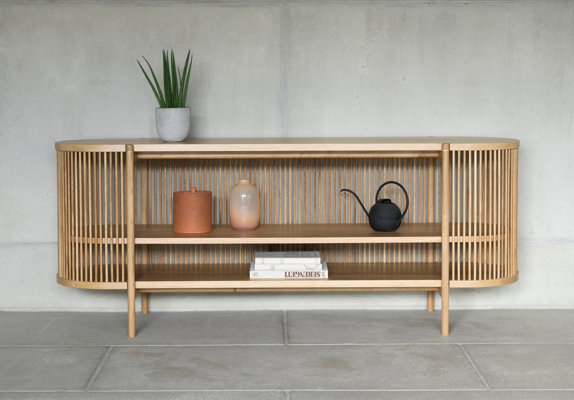 BASTONE x POIAT Sideboard - Natural Oak