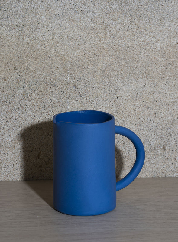 ELECTRIC BLUE PITCHER