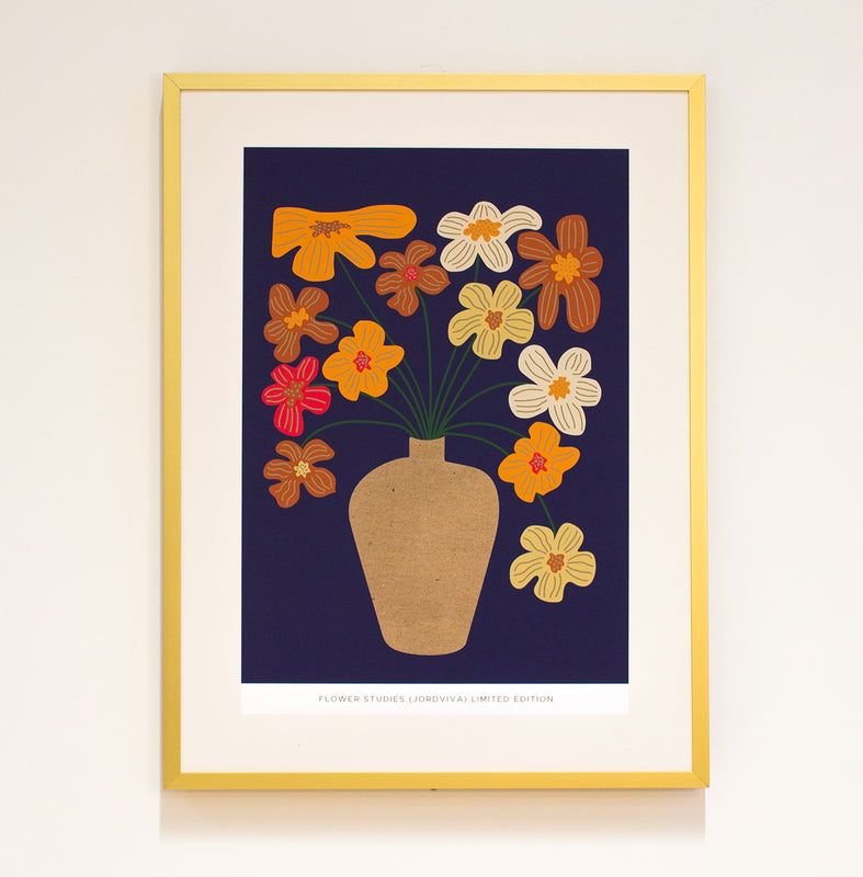 Limited Edition Print: Flower Studies (Jordviva)