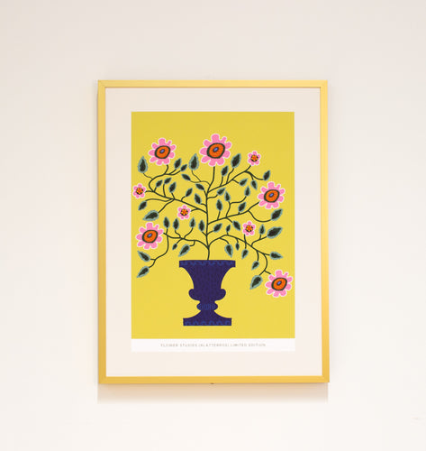 Limited Edition Print: Flower Studies (Klätterros)