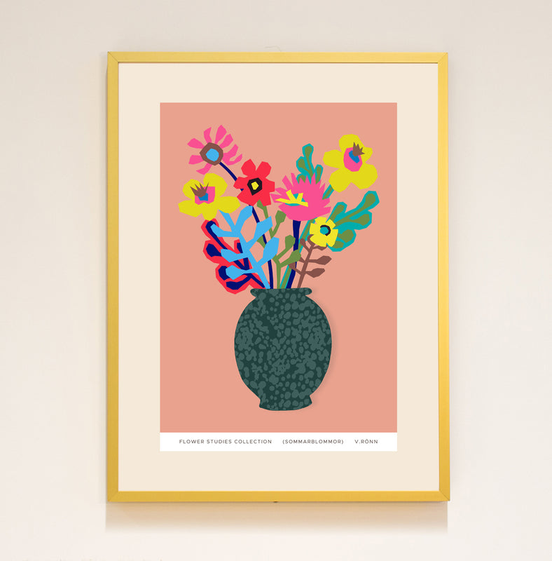 Limited Edition Print: Flower Studies (Sommar blommor)
