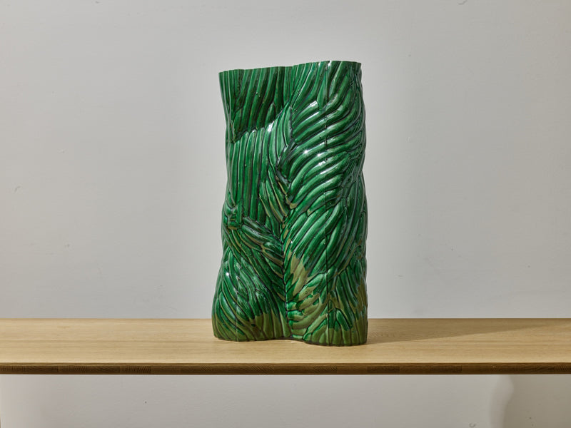 CARVED Vessel (Green)