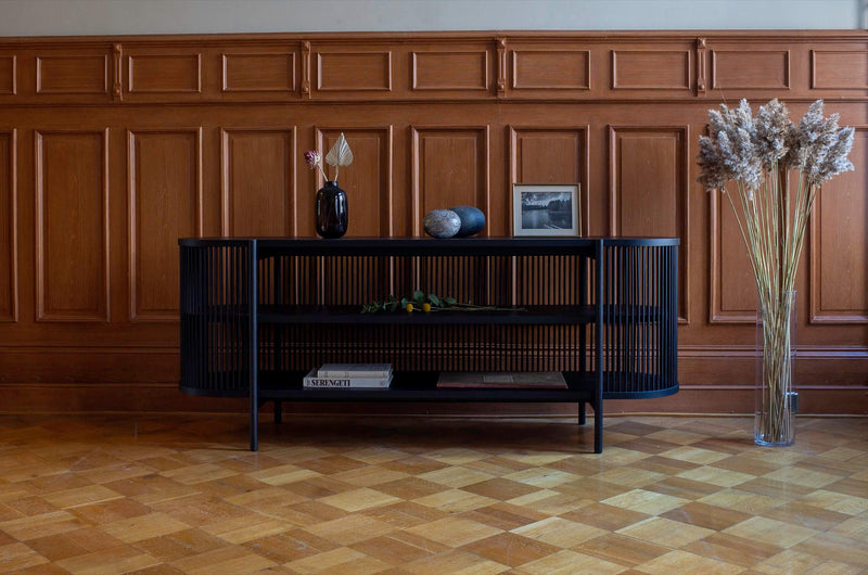 BASTONE x POIAT Sideboard - Black Oak