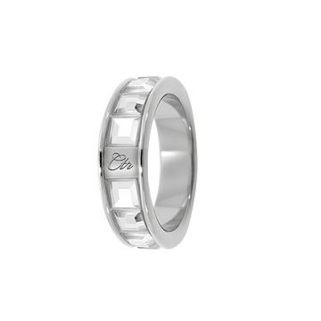 CZ Channel CTR Ring - stainless steel