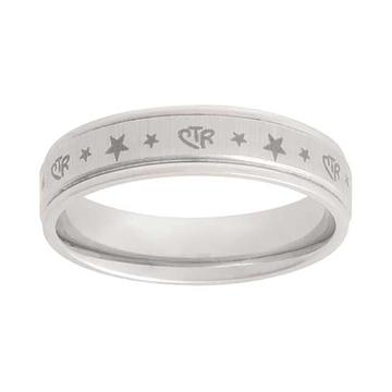 Aries Star CTR Ring - Stainless Steel