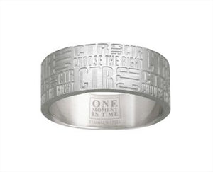 Tabloid CTR Ring - stainless steel