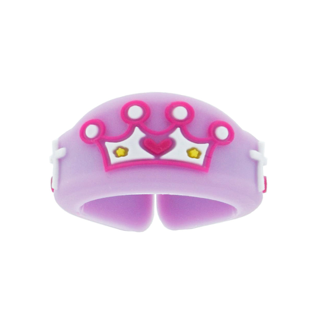 Kids Crown Christian Ring - Adjustable