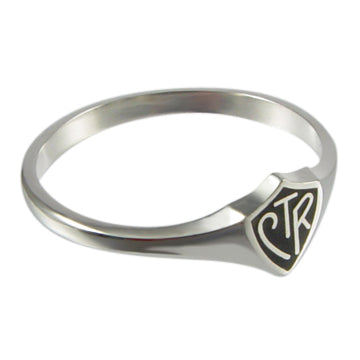 Ukrainian CTR ring - sterling silver - 3 styles