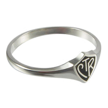 Load image into Gallery viewer, Romanian CTR ring - sterling silver - 3 styles