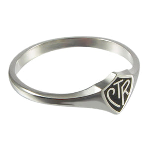 Lithuanian CTR ring - sterling silver - 3 styles