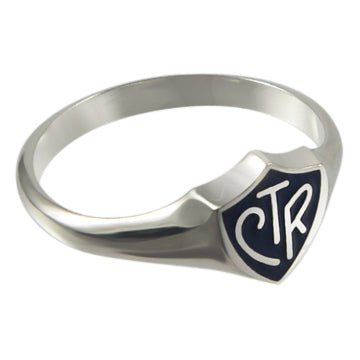 Albanian CTR ring - sterling silver - 3 styles