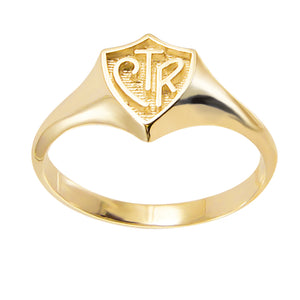 Regular CTR Ring - 14KT Yellow Gold