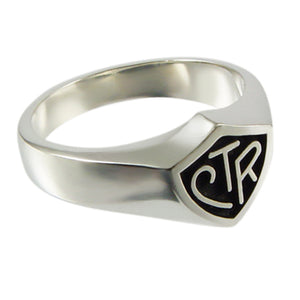 Sign Language CTR ring - sterling silver - 3 styles