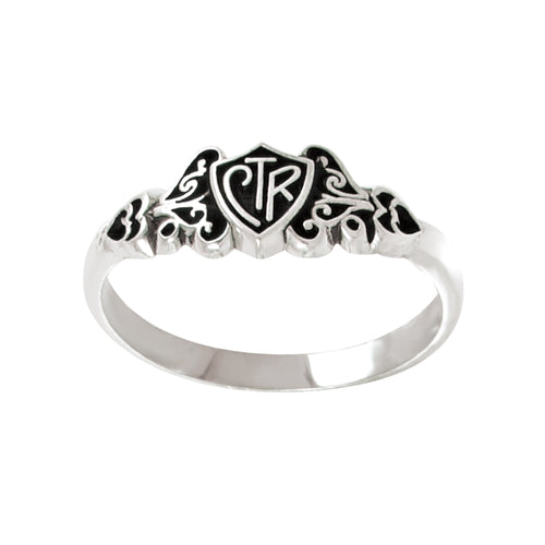 Filigree CTR Ring - sterling silver