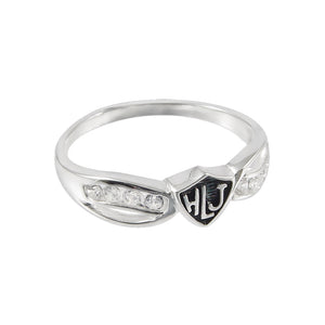 Bow HLJ Ring - sterling silver