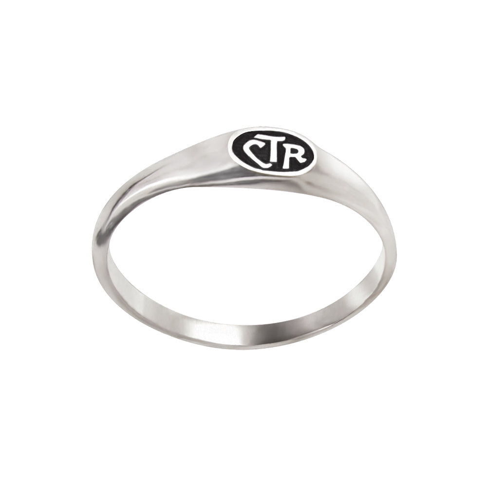 Micro Mini CTR Ring - sterling silver