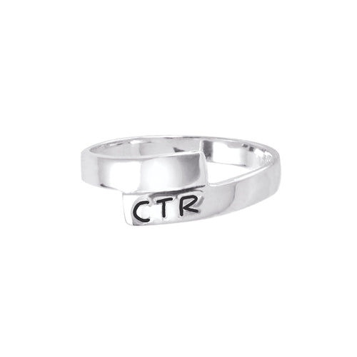 Orbit CTR Ring - sterling silver (engravable)