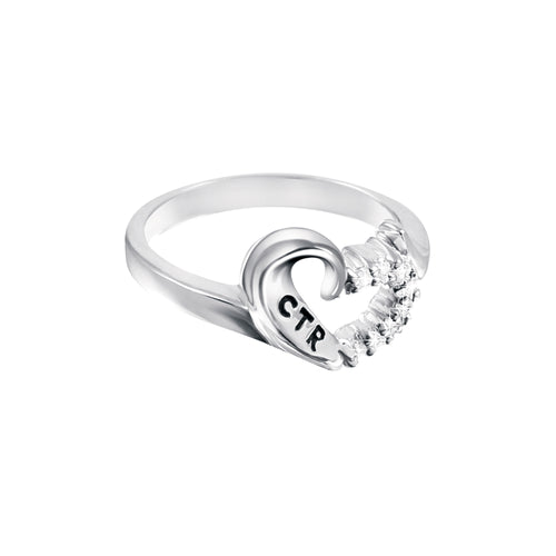 Sweetheart CTR Ring - sterling silver