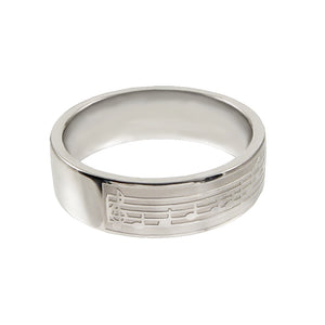 Melody CTR Ring – Encore - stainless steel (engravable)