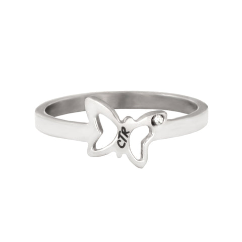 Flutter CTR Ring - stainless steel