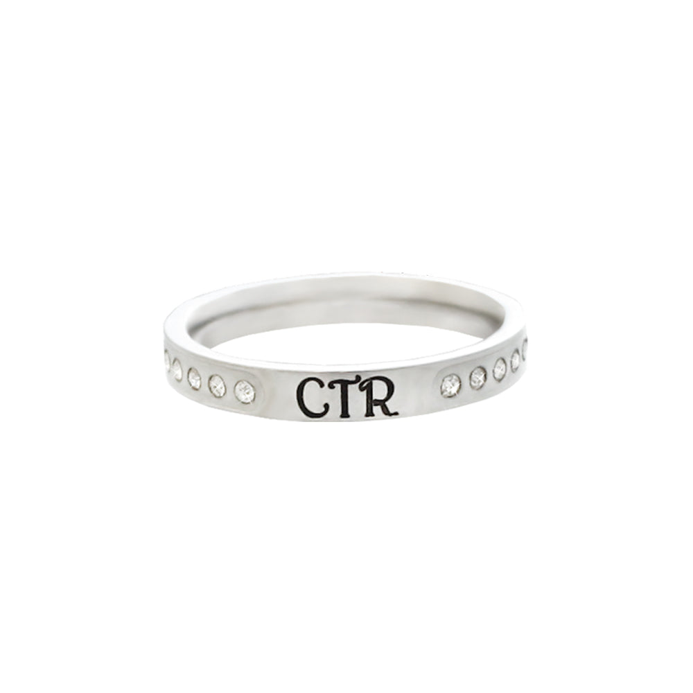 Twinkle CTR Ring - stainless steel