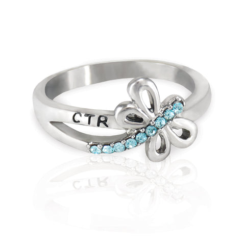 Dragonfly CTR Ring - stainless steel