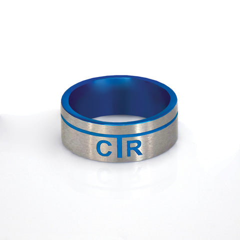 Astro CTR Ring - stainless steel (engravable)