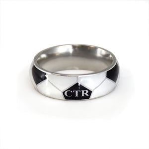 Soccer CTR Ring - stainless steel