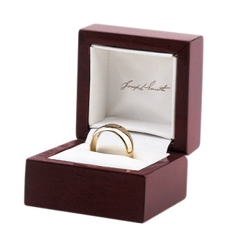Joseph Smith Ring - 14 kt Yellow Gold (8-10 weeks till shipped)