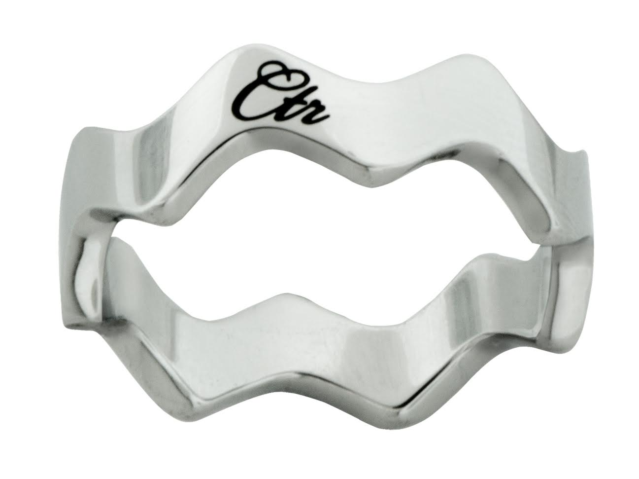 Zara CTR Ring - Stainless Steel