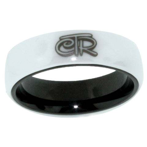 White Magic CTR Ring - White Ceramic