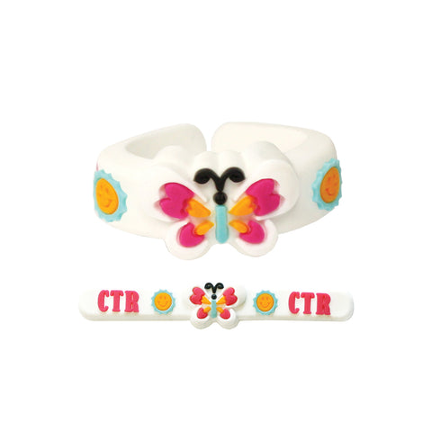 Kids Butterfly Ring - Adjustable