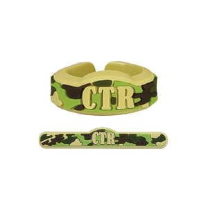 Adjustable CTR Camouflage Ring - silicone
