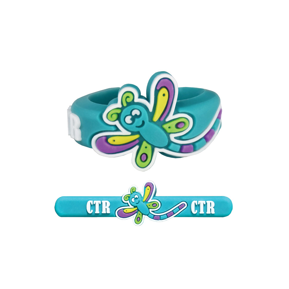 Adjustable CTR Dragonfly Ring - silicone