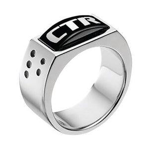 Illusion CTR Ring - Stainless Steel