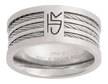 Triple Cable CTR Ring - stainless steel