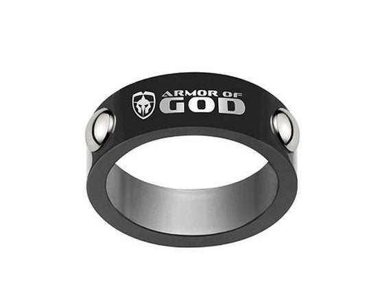 Armor of God Ring - stainless steel