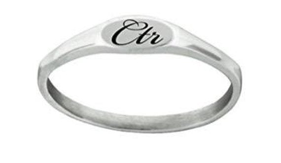 Silver Pixi CTR Ring - Stainless Steel