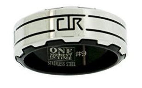 Gear CTR Ring - stainless steel