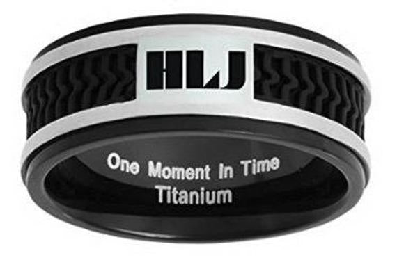 Spanish Elements CTR (HLJ) Ring –  Titanium with rubber inlay