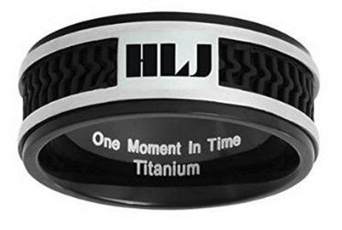 Spanish Elements HLJ Ring –  Titanium