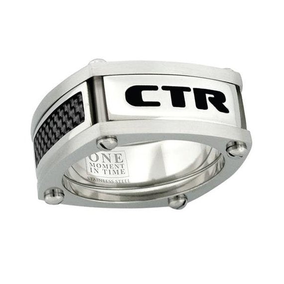 Formula One CTR Ring - stainless steel
