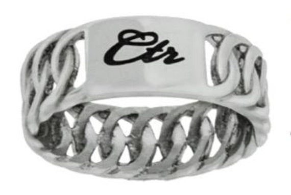 Braid CTR Ring - stainless steel