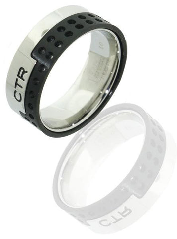 Vented CTR Ring - stainless steel